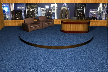 Picture of Late Night TV Show Set Environment FBX Format