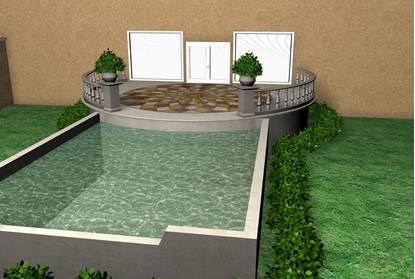 Picture of Upscale Backyard Environment FBX Format