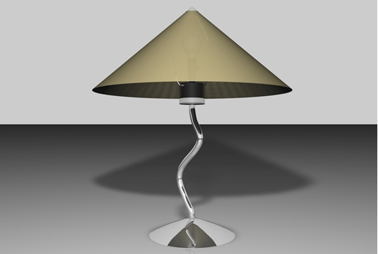 Picture of Modern Art Lamp Model FBX Format
