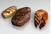 Picture of Grilled Meat Entree Food Models FBX Format