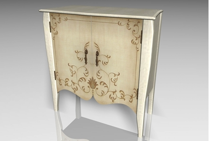 Picture of Accent Chest Furniture Model FBX Format