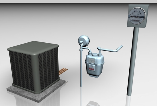Picture of Outdoor Utility Models FBX Format
