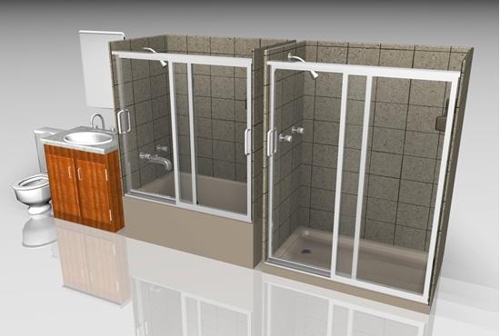 Picture of Bathroom Fixture Models FBX Format