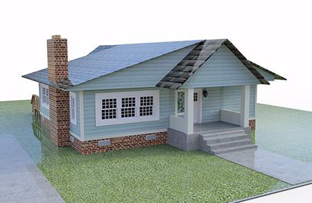 Picture for category 3D Architectural Model | 3D Building Model FBX Format