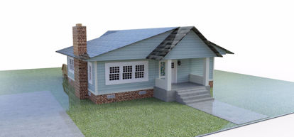 Picture of 1940 Bungalow House Model Poser Format