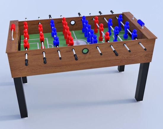 3D Foosball Table Furniture Model Poser Format