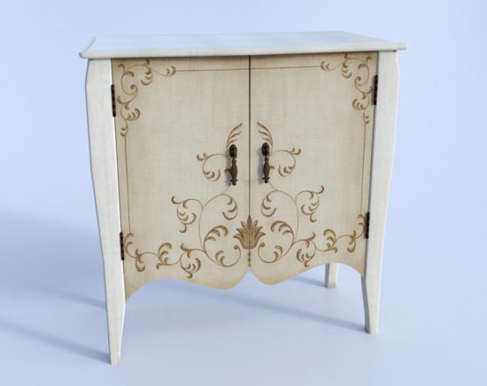 Picture of Accent Cabinet Furniture Model 2016 Poser Format