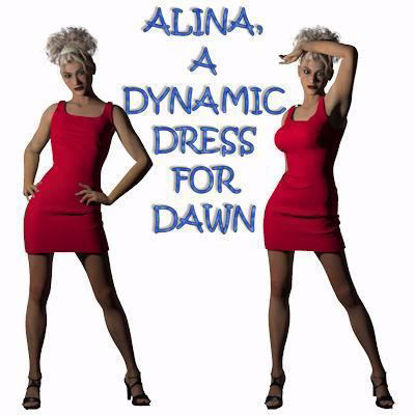 Picture of Alina Dynamic Dress for Hivewire3D Dawn