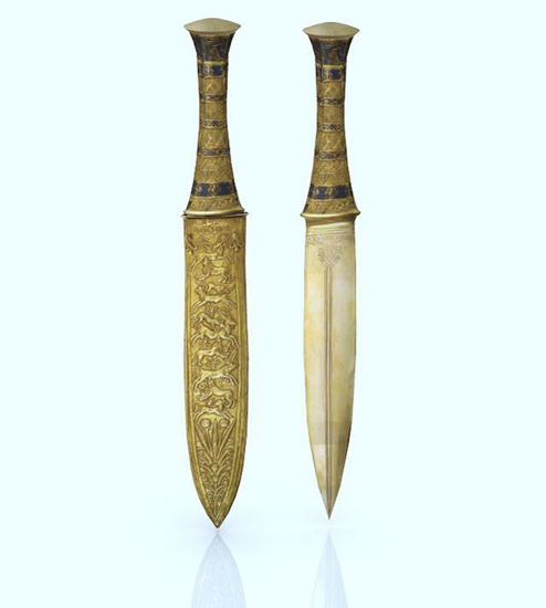 Picture of Ancient Egyptian Dagger Model Poser Format