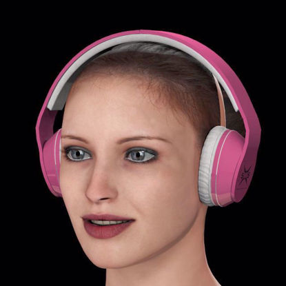 Picture of Audio Headphones Model Poser Format
