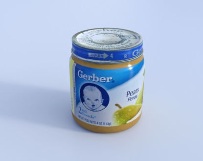 Picture of Baby Food Jar Model Poser Format