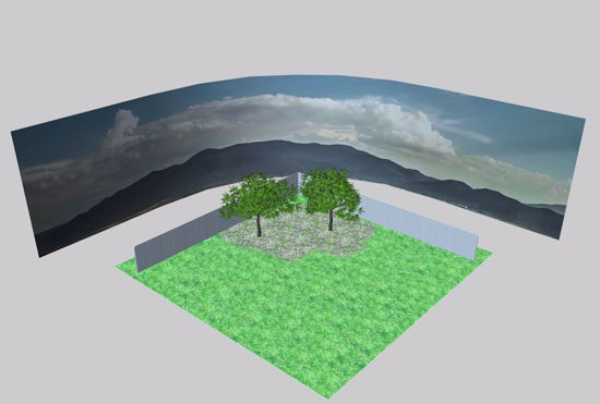 Picture of Backyard Environment FBX Format