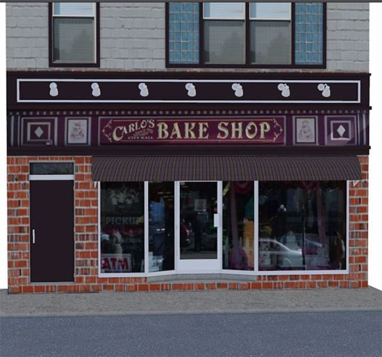 Picture of Bake Shop Building Environment FBX Format