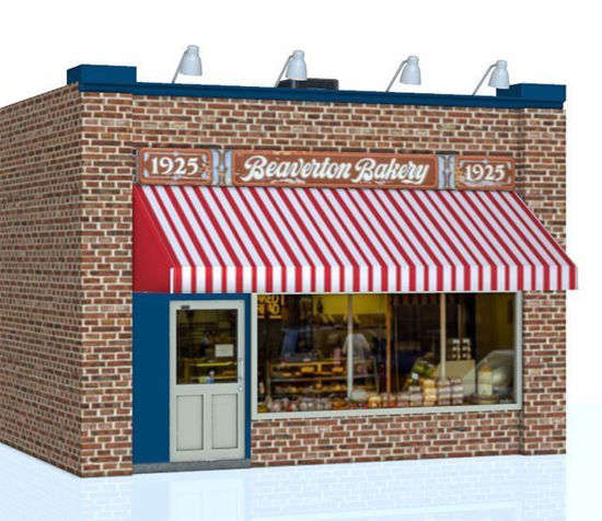 Picture of Bakery Shop Building Model FBX Format