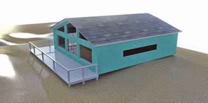 Picture of Beach House Environment FBX Format
