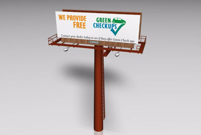 Picture of Billboard Sign Model FBX Format