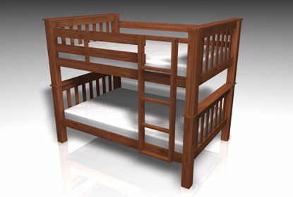 Picture of Bunk Bed Furniture Model FBX Format