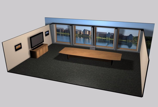 Picture of Business Conference Room Environment FBX Format