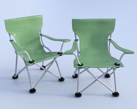 Picture of Camping Chair Model Poser Format