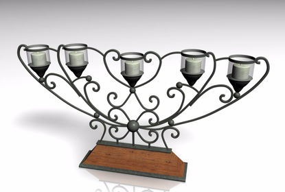 Picture of Candelabra Furniture Model FBX Format