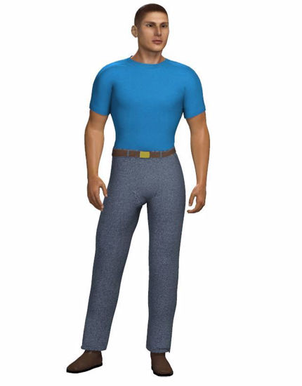 Picture of Casual Clothes Set for Hivewire3D Dusk