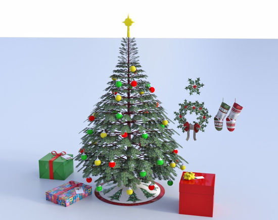 Picture of Christmas Holiday Models Bundle Poser Format