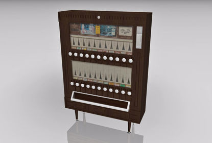Picture of Cigarette Vending Machine Model FBX Format