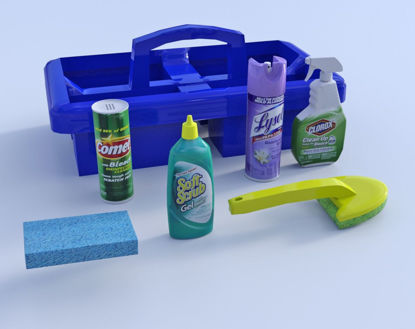 Picture of Cleaning Product Models Poser Format