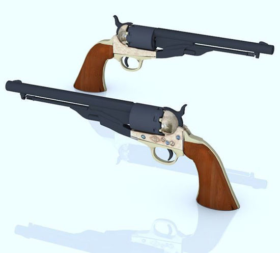 Picture of Colt Percussion Pistol Model Poser Format