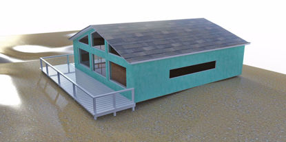 Picture of Complete Beach House Environment Poser Format