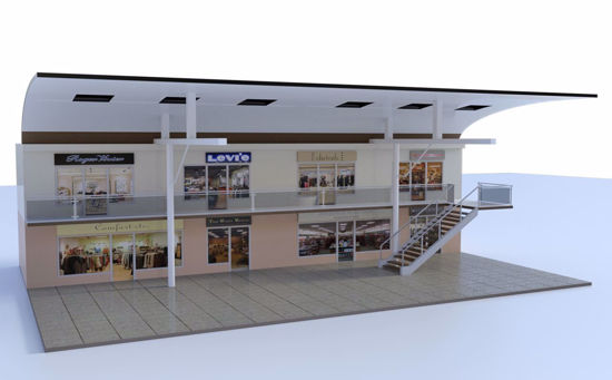Picture of Complete Modular Mall 3D Bundle Poser Format