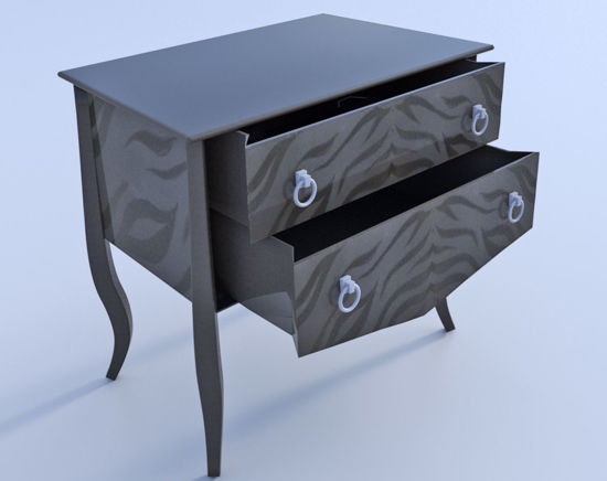 Picture of Contemporary Accent Table Model 2016 Poser Format