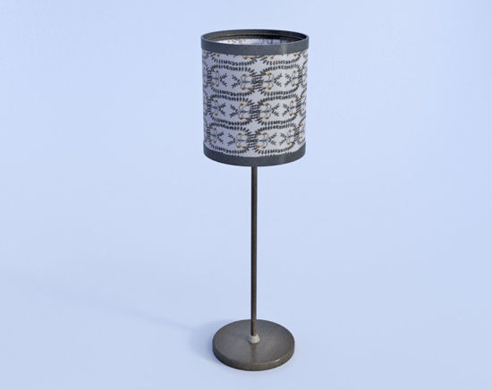 Picture of deluxe Table Lamp Model Poser Format