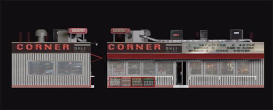 Picture of Corner Deli Model Poser Format