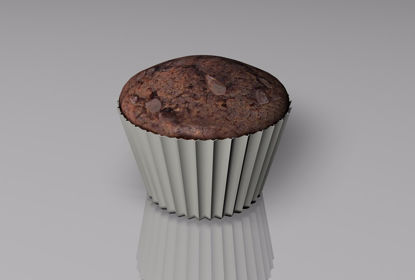Picture of Cupcake Food Model FBX Format