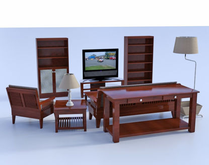Picture of Den Furniture Model Bundle Poser Format