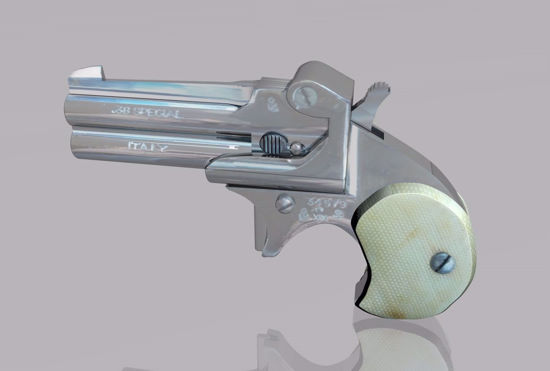 Picture of Derringer Pistol Weapon Model FBX Format