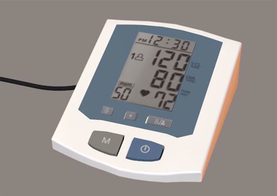 Picture of Digital Blood Pressure Machine Model Poser Format
