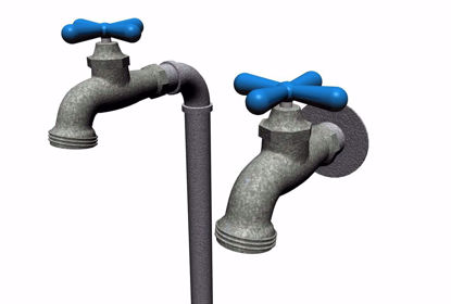 Picture of Exterior Water Faucet Models FBX Format