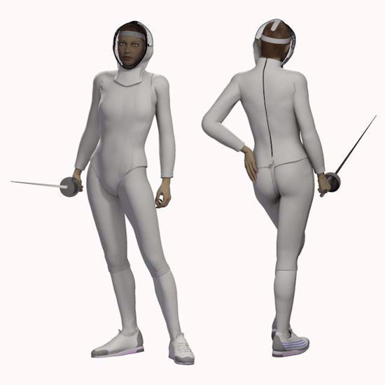 Picture of Fencing Outfit for DAZ Victoria 4
