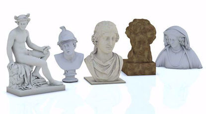 Picture of Fine Art 3D Models Set 1 Poser Format