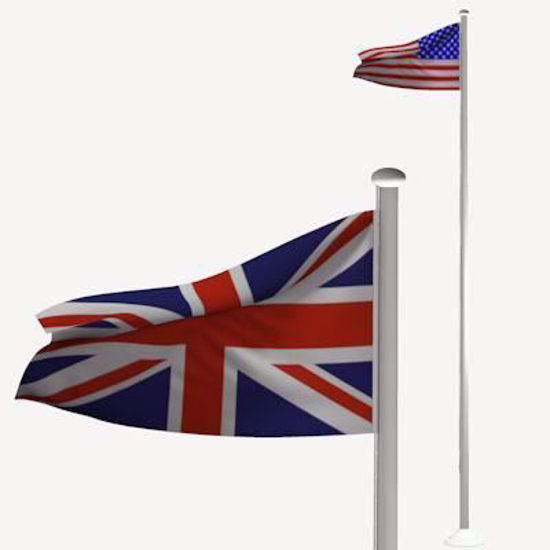Picture of Flags and Pole Models Poser Format