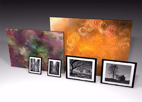 Picture of Framed Artwork and Painting Models Poser Format