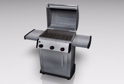 Picture of Gas Grill Mechanical Model FBX Format