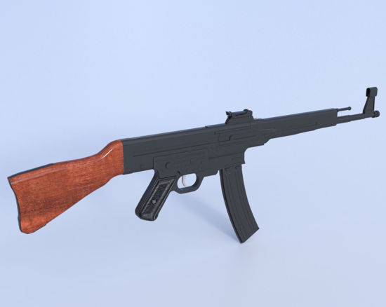 Picture of German Sturmgewehr 44 Rifle Model  Poser Format