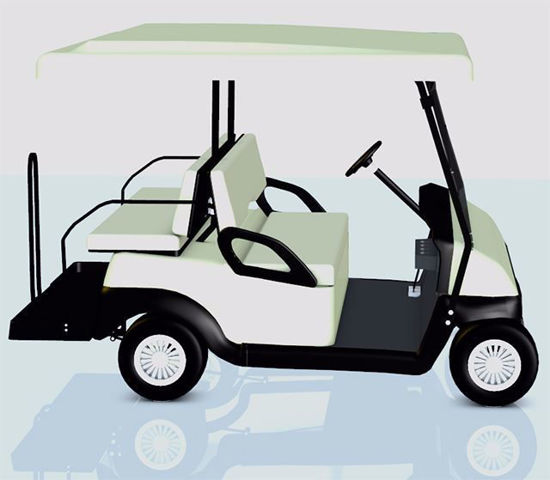 Picture of Golf Cart Model Poser Format