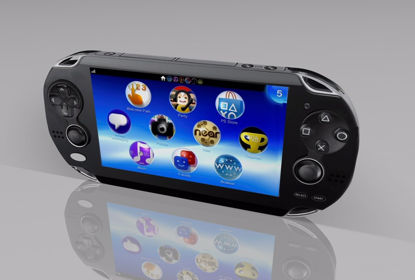 Picture of Handheld Video Game Console Model FBX Format