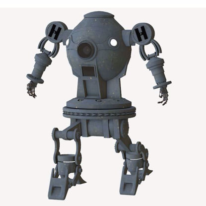 Picture of Henry the Robot Figure Poser Format
