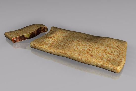 Picture of Hot Pocket Food Model FBX Format