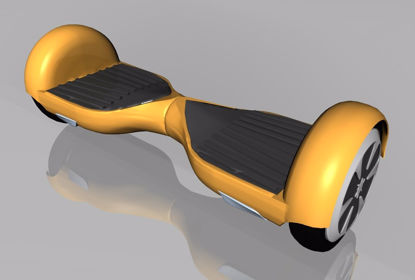 Picture of Hover Board Model FBX Format